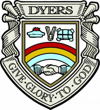 Bonnetmakers & Dyers shield
